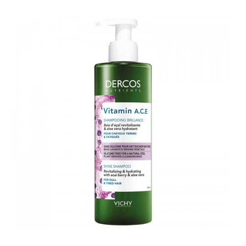 DERCOS NUTRIENTS SHAMPOO VITAMIN 250 ML