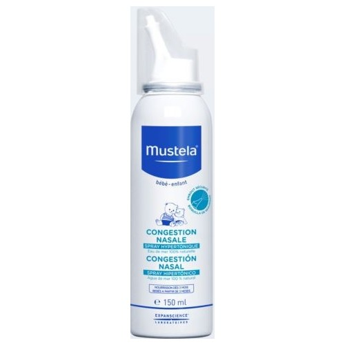 MUSTELA CONGESTIONE NASALE SPRAY IPERTONICO 150 ML