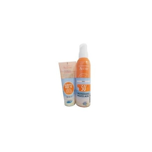 AVENE SOLARE KIT SPRAY SPF 50+ 200 ML + TRIXERA NUTRITION DETERGENTE 100 ML