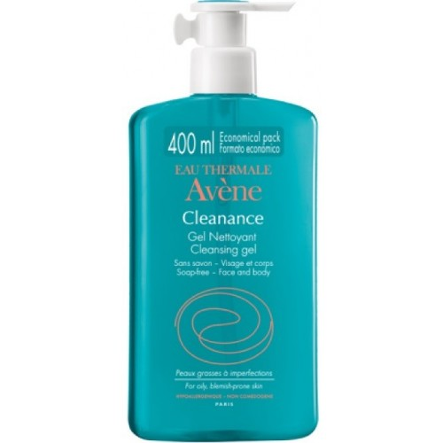 EAU THERMALE AVENE CLEANANCE GEL DETERGENTE 400 ML