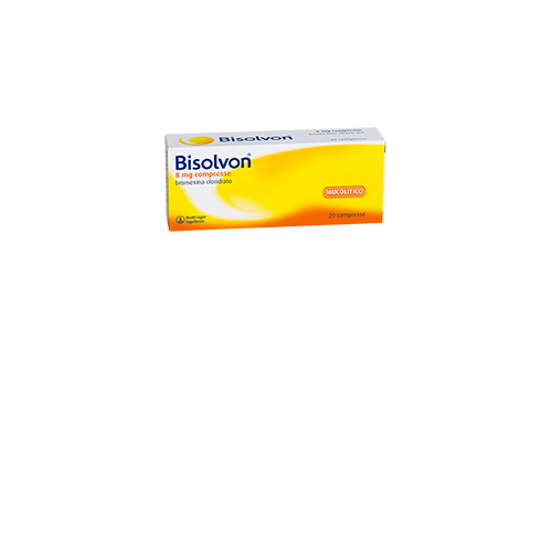 BISOLVON*20CPR 8MG