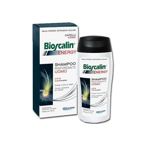 BIOSCALIN ENERGY SHAMPOO 200 ML + SHAMPOO 200 ML