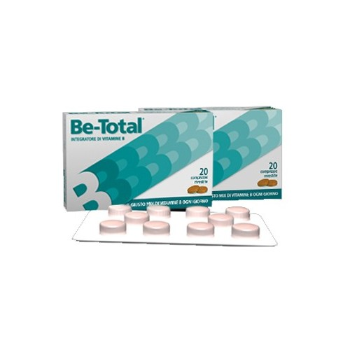 BE-TOTAL 20 COMPRESSE RIVESTITE