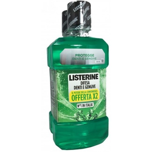 LISTERINE DIFESA DENTI E GENGIVE BUNDLE 2 X 500 ML
