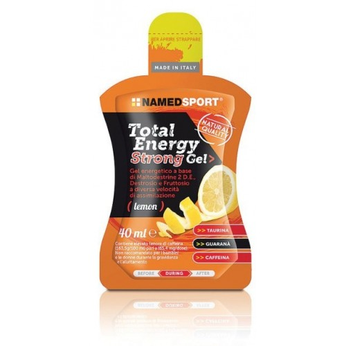 TOTAL ENERGY STRONG LEMON GEL 40 ML