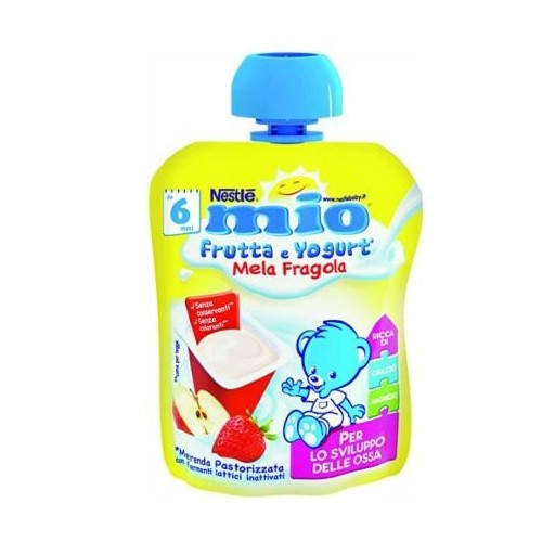 MIO FRUTTA YOGURT MELA/FRAGOLA 90 ML
