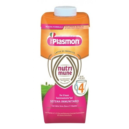 PLASMON NUTR STAGE 4 LIQUIDO 18 X 500 ML