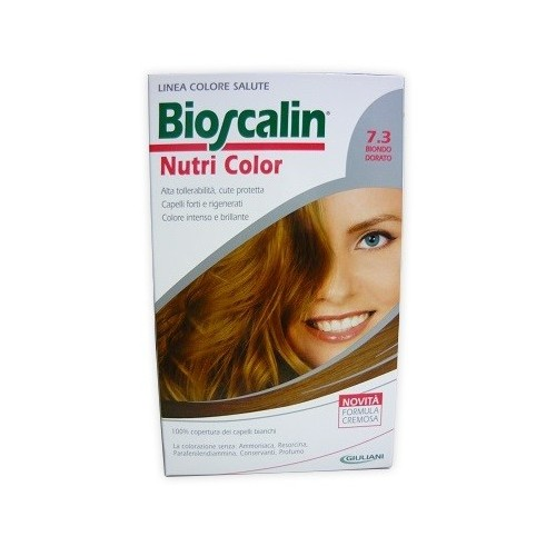 BIOSCALIN NUTRI COLOR 7.3 BIONDO DORATO SINCROB 124 ML
