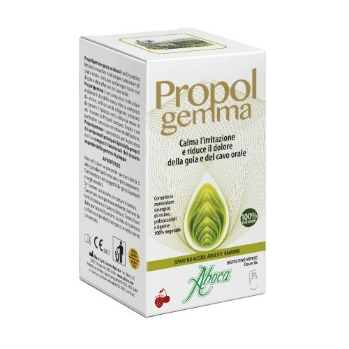 PROPOLGEMMA SPRAY NO ALCOOL BAMBINI E ADULTI 30 ML