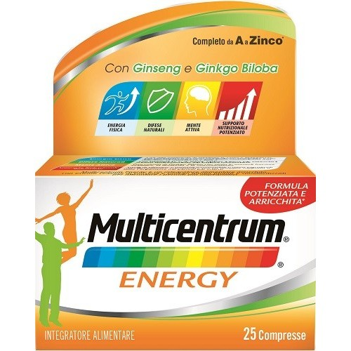 MULTICENTRUM MC ENERGY 25 COMPRESSE