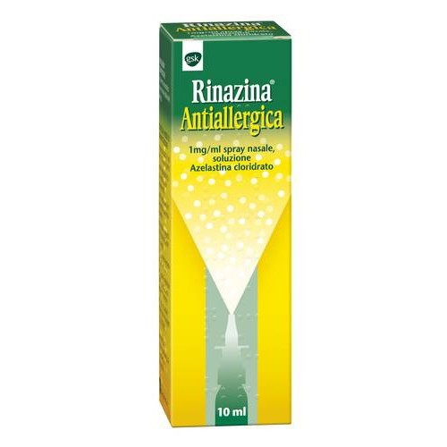 RINAZINA ANTIALLERGICA 1 MG/ML SPRAY NASALE, SOLUZIONE