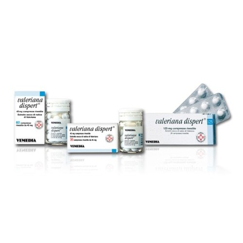 VALERIANA DISPERT 45 MG COMPRESSE RIVESTITE