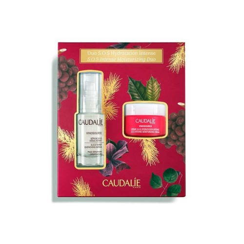 CAUDALIE COFANETTO NATALE VINOSOURCE SIERO HYDRATATION INTENSE SIERO 30 ML + CREMA 25 ML