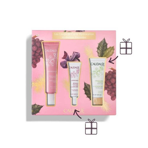 CAUDALIE COFANETTO VINOSOURCE CREMA SOS CREMA 50 ML + SIERO 10 ML + MASCHERA 15 ML