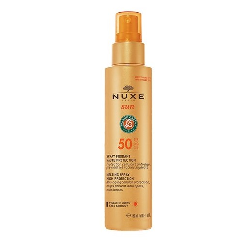 NUXE SUN SPRAY FONDANT HAUTE PROTECTION SPF50 VISAGE ET CORPS 150 ML